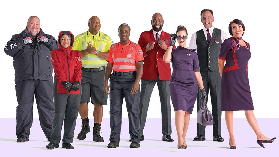 Some Delta Air Lines employees have reported rashes and skin irritation after wearing the new uniforms.