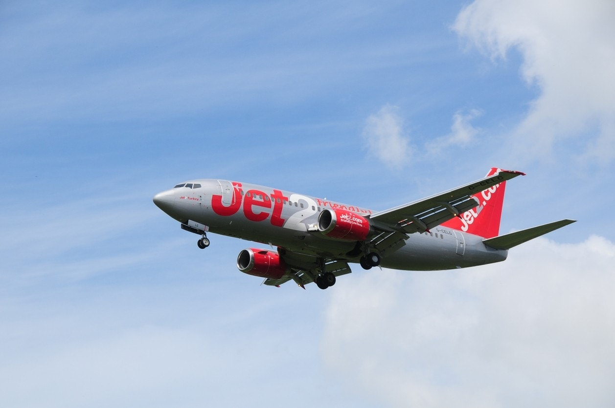 'Verbally abusive' Jet2 passenger playing with 'blow up doll' forces lan...