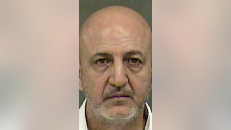 Sam Nedawi, 56, was arrested and charged with misdemeanor sexual battery on Sunday.