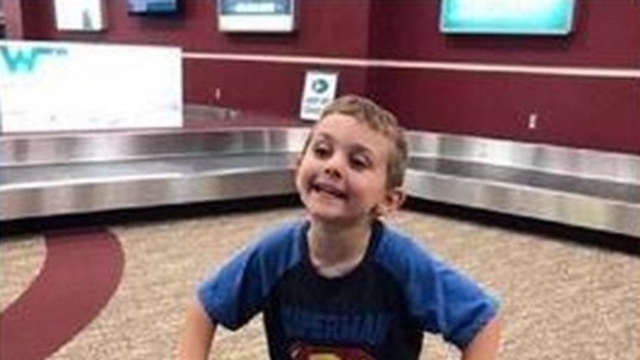 'Welcome home from prison, Mom': Arkansas family's airport fun goes viral