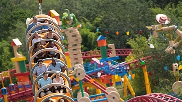 toy story land disney