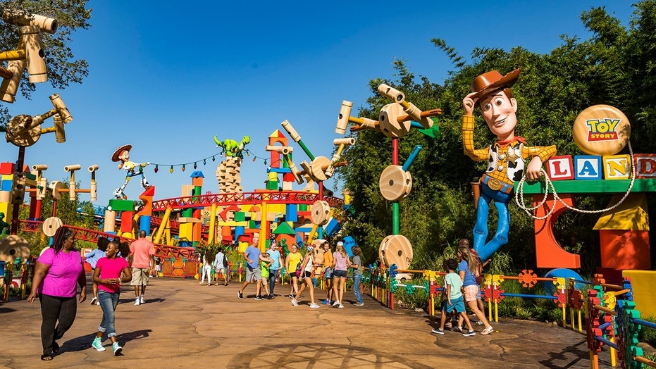 """Upon arriving at the park in Orlando's Hollywood Studios, guests instantly """"shrink"""" to the """"size of a toy."""""""