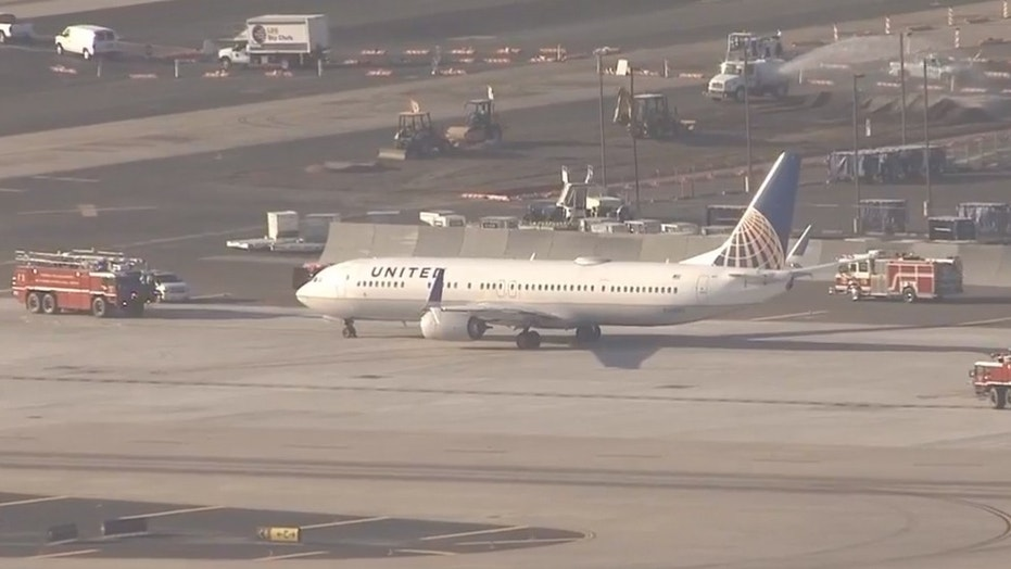 Phoenix Fire reported no injuries to passengers, airport officials stated.