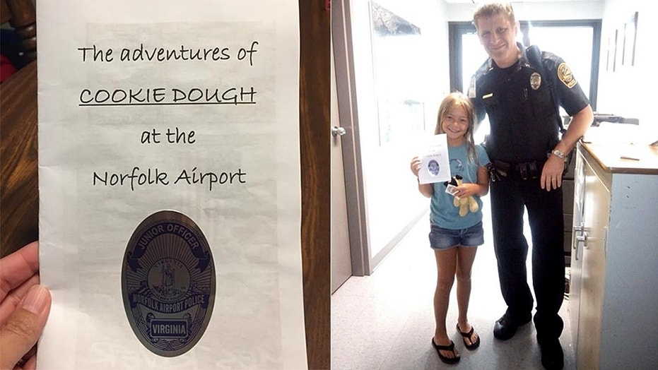 When a little girl left behind her favorite stuffed animal at the airport, the police took him on an adventure and documented the whole thing for her.