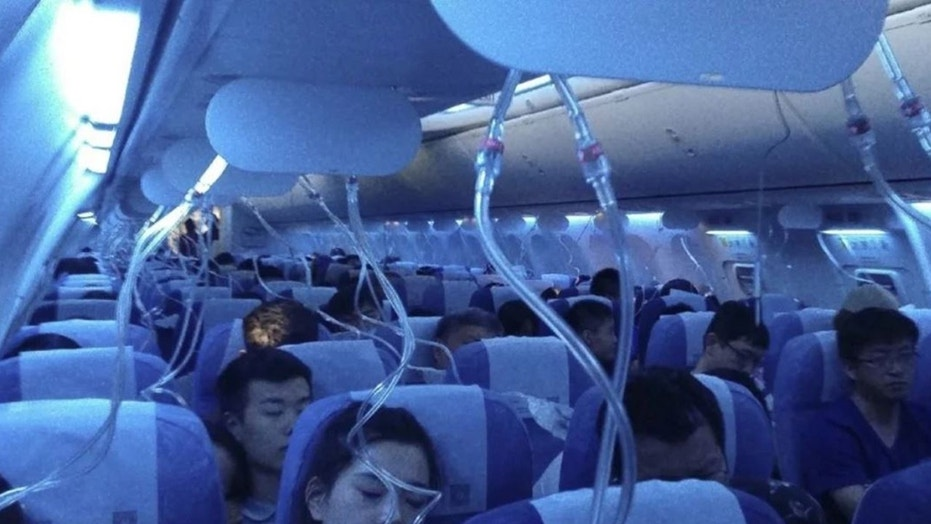 Air China Flight CA106 from Hong Kong to Dalian in China lost altitude a half an hour into the scheduled 5:55 pm trip.