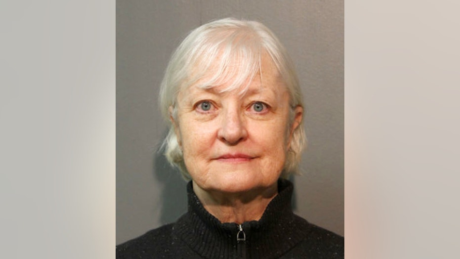Marilyn Hartman, seen in a January 2018 mugshot supplied by the Chicago Police Department, first gained notoriety after stowing away aboard a British Airways flight to London.