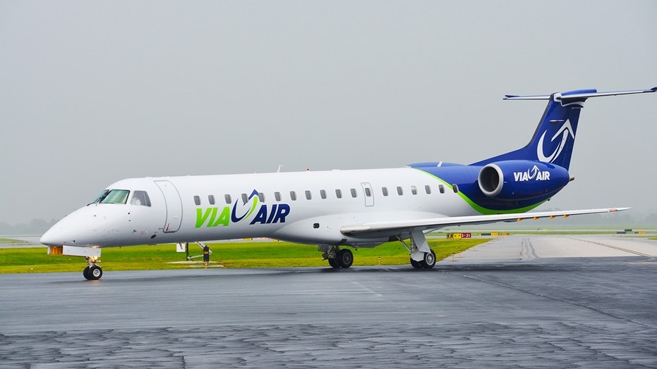 A plane full of passengers is claiming ViaAir stranded them in a city 450 miles away from their destination and then denied them compensation.