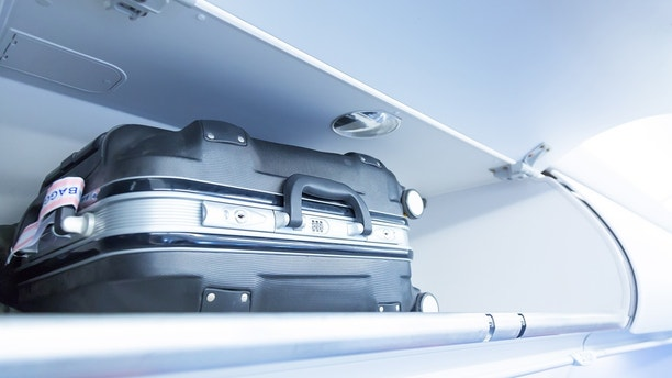 carry-on luggage istock