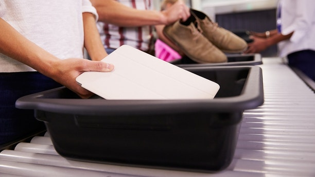 security tray istock