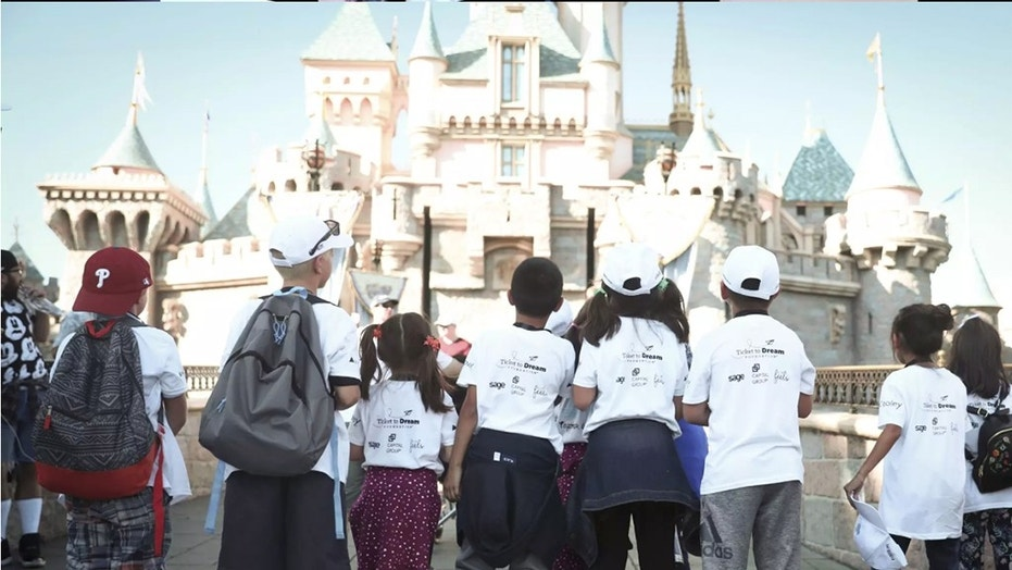Disneyland welcomes 350 children in encourage caring for reunion with biological siblings