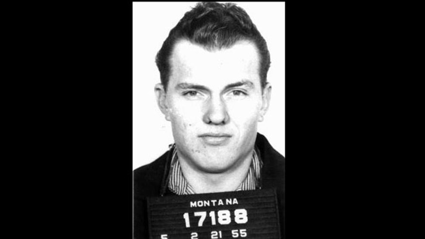 This Feb. 21, 1955 photo provided by the Montana Department of Corrections shows Frank Dryman when he was sentenced to Montana State Prison. Dryman, a hitchhiker convicted of killing a Montana man who picked him up during a 1951 blizzard, and then skipped out on parole 38 years ago, has been found running a wedding chapel in Arizona.