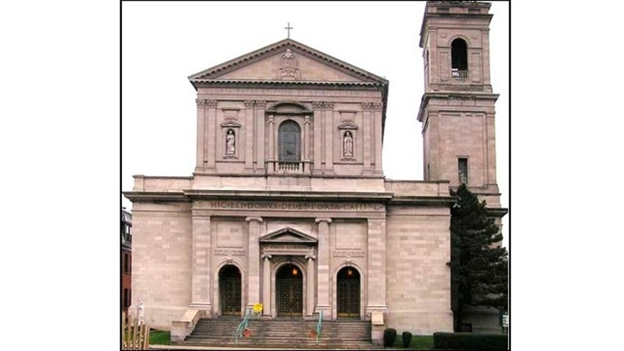 The St. Gerard's RC Church is built in the Renaissance Revival style, based on the design of St., Paul's Outside the Walls in Rome.