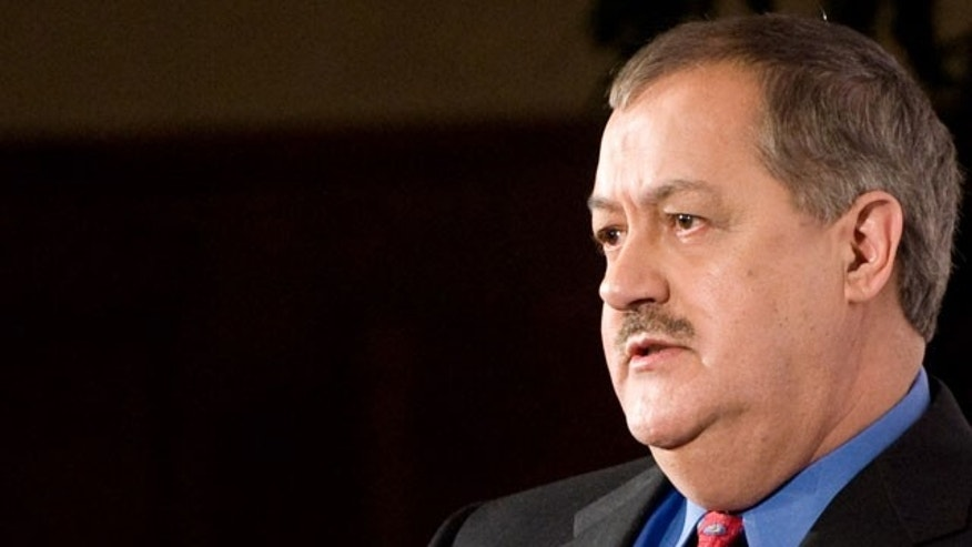 Massey CEO Don Blankenship