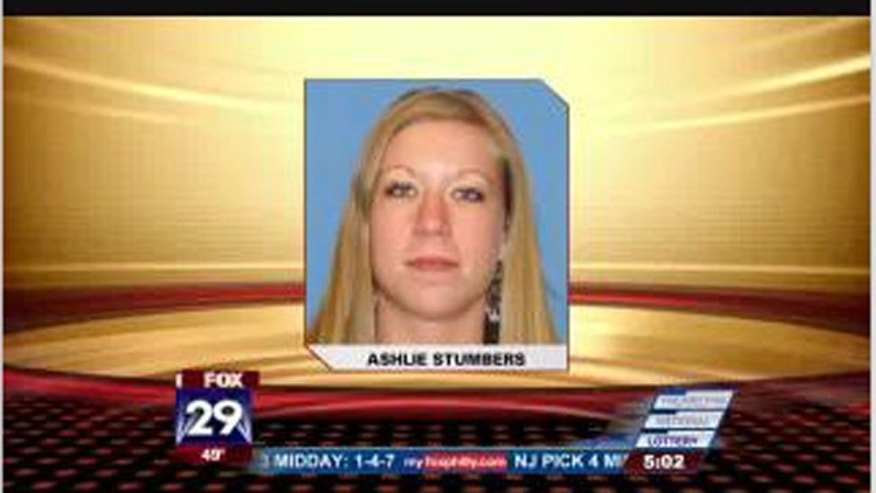 24-year-old Ashlie Stumbers is in custody.