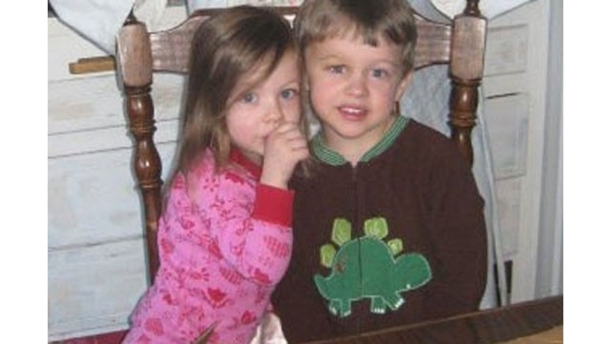 Charlotte Mortimer, 2, and Thomas 'Finn'' Mortimer V, 4, shown at their home in Winchester, Mass., where they were found murdered along with family members.