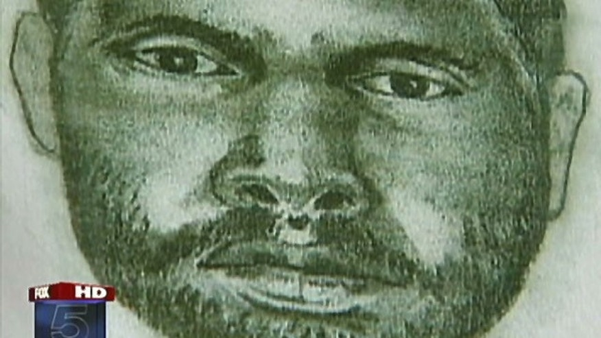 A police sketch of a suspect police say sexually and physically assaulted a 26-year-old woman in Fairfax City, Va., back in September of 2005. Police said they might have found a forensic link from that crime to the murder of Morgan Harrington.