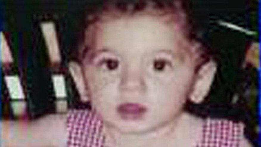 This undated image provided by the Los Angeles County Sheriff's Department shows Amber Nicklas, who was abducted seven years ago, when she was 1-year-old, by her three aunts during a visit with them and her foster parents at a restaurant in Norwalk, Calif., according to authorities.