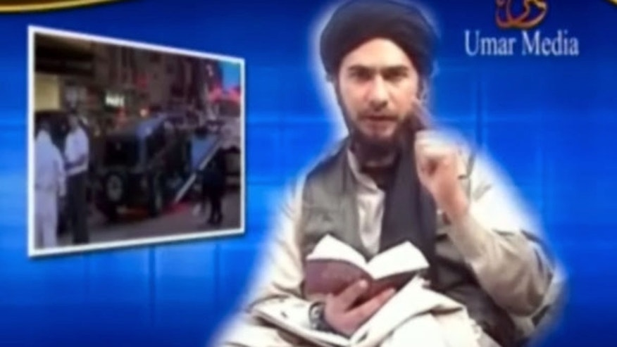 """July 14: Failed Times Square car bomb suspect Faisal Shahzad appears in a jihad tape filmed in Pakistan saying he planned a """"revenge attack"""" against the U.S. that he hoped would touch the hearts of Muslims."""