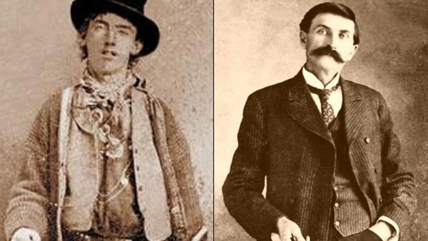 The 130-year-old feud between outlaw Billy the Kid, left, and frontier lawman Pat Garrett isn't over, as New Mexico Gov. Bill Richardson considers granting a posthumous pardon to the notorious criminal.