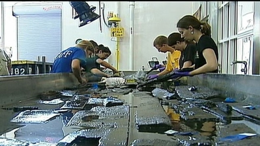 Ship Found Under Ground Zero Examined by Archaeologists in Md.