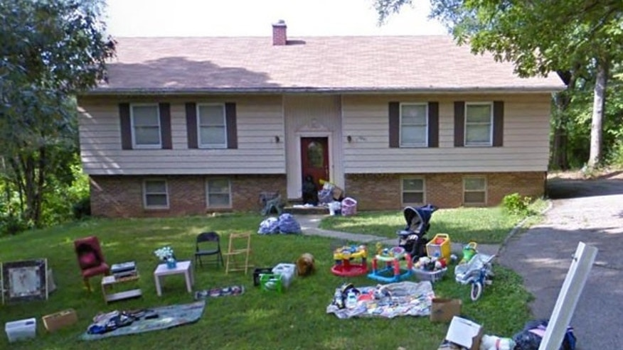 An image of the Maryland home where police found the bodies of two women and two children after someone in the residence called in to report an assault.