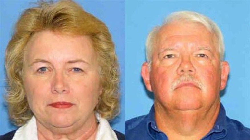 In this undated photo released by the New Mexico Department of Public Safety showing Linda and Gary Haas both 61, who were found dead in a charred camper last Wednesday morning on a remote ranch in eastern New Mexico.