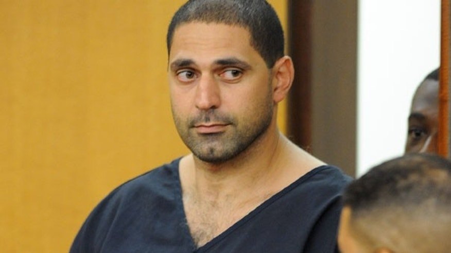 Aug. 13: Elias Abuelazam, 33, attends an extradition hearing in Fulton County Superior Court in Atlanta.
