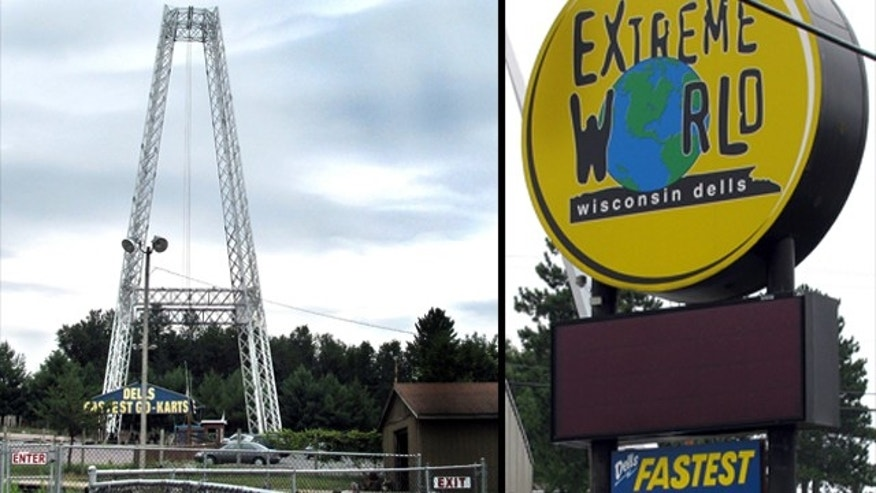 July 30, 2010: A worker at Extreme World in Lake Delton, Wis., allegedly let a girl fall 100 feet to the ground on the Terminal Velocity ride after he 'blanked out.'
