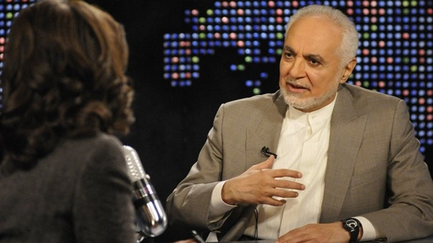 Sept. 8:  Imam Feisal Abdul Rauf speaks to guest host Soledad O'Brien during a live broadcast of Larry King Live.