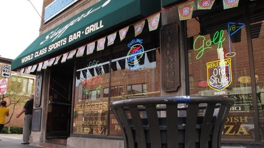 Sept. 20: The Chicago sports bar where a man was arrested for allegedly placing a backback he thought contained a bomb.