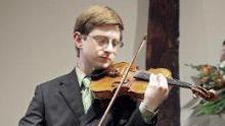Clementi, a gifted violinist, is seen in a photo posted to a Facebook page created in his honor