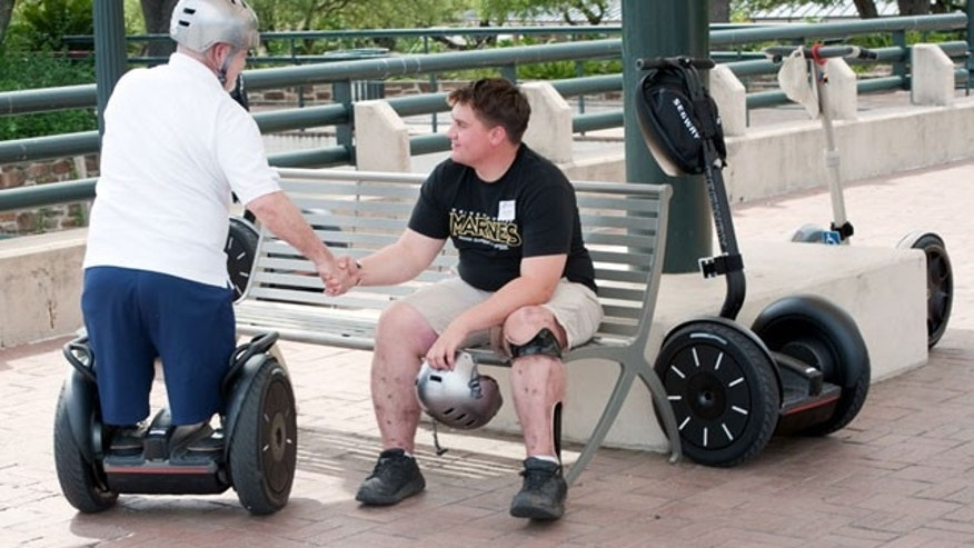 Segs4Vets program provides the mobility devices to American military service members who are disabled by injuries in combat in Iraq and Afghanistan.