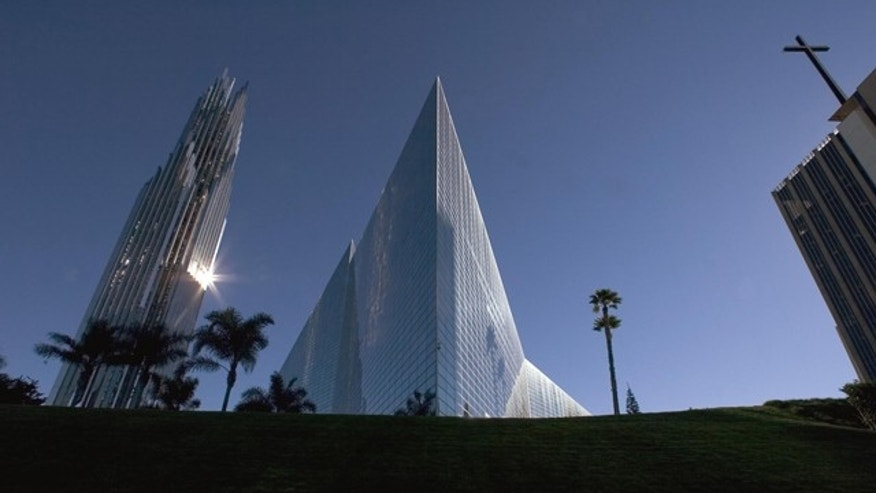 The Crystal Cathedral is seen on Dec. 17, 2004, in Garden Grove, Calif.
