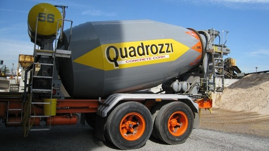 Quadrozzi is one of several companies supplying concrete to the new World Trade Center.