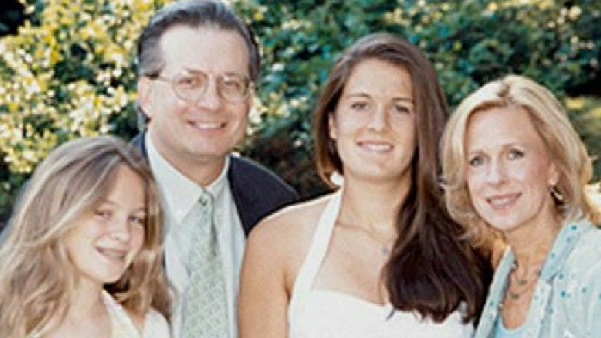 Dr. William Petit pictured with daughters, Michaela and Hayley, and wife, Jennifer Hawke-Petit, in an undated family photo (Fox News).