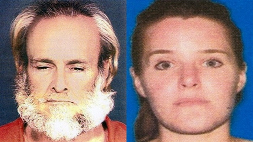 Thomas Steven Sanders, left, and Suellen Roberts, 31, mother of 12-year-old Lexis Kaye Roberts, are seen in undated photos provided by the FBI.