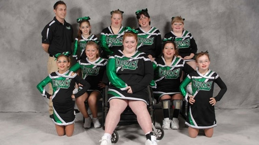 Legacy Xtreme Panthers: Ohio Competetive Edge  Cheerleading Team