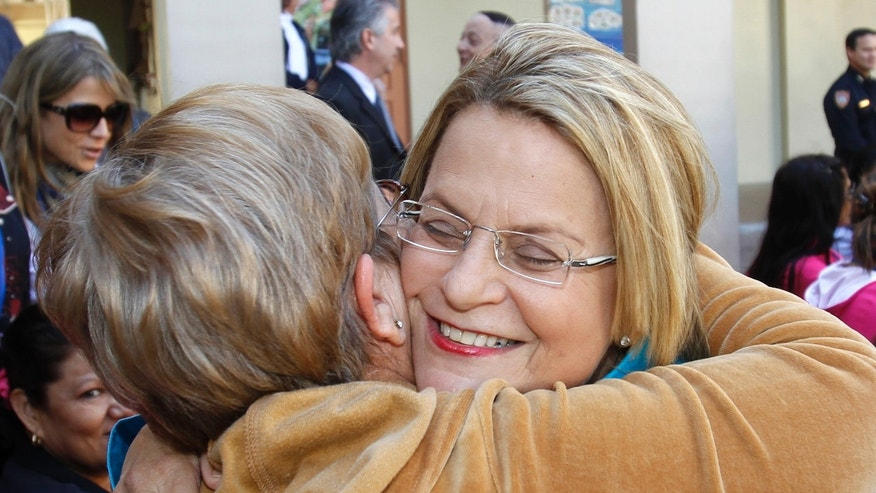 Rep. Ileana Ros-Lehtinen, R-Fla., is supporting GOP presidential contender Mitt Romney despite, she says, immigration views that she does not support.