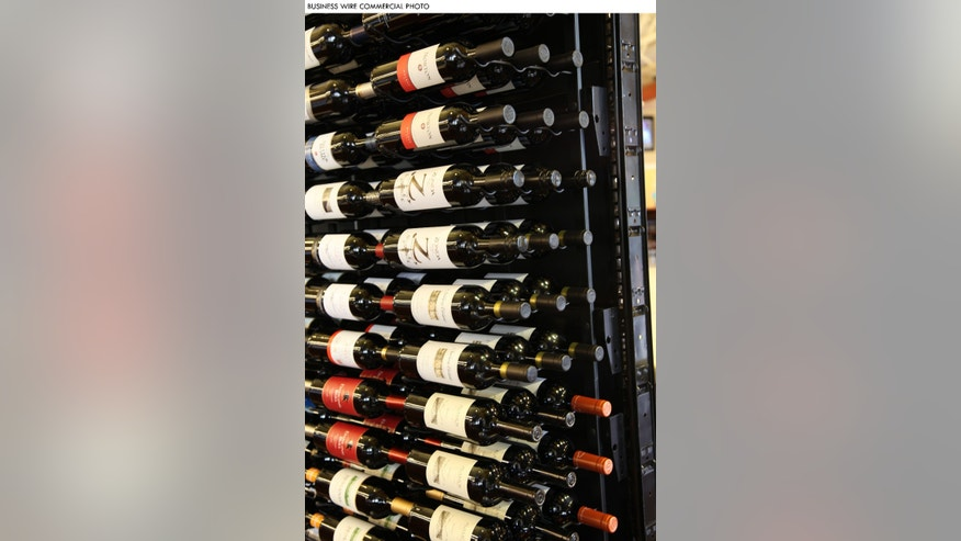 VintageView wine racks can now be used on the popular gondola shelving in grocery stores. (Photo: Business Wire)