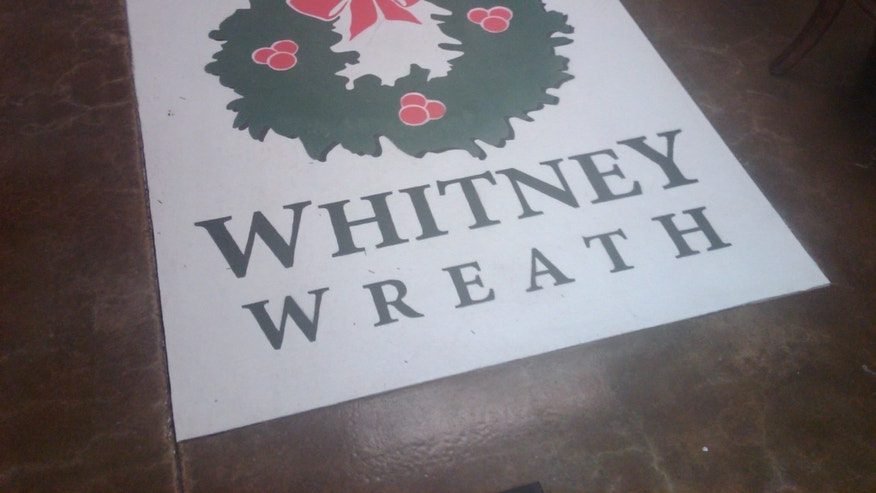 Whitney Wreath company in Whitney, Maine.