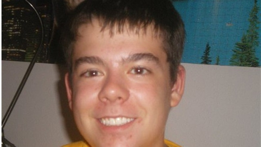 This undated photo provided by the family shows Sam Hengel who authorities say shot himself Monday night Nov. 29, 2010 when police stormed the Marinette High School classroom in Marinette Wis., where he'd held about two dozen other students and teacher. No others were injured.