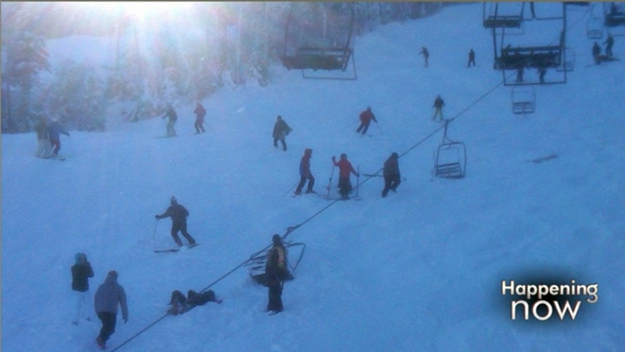 Dec. 28: At least six people were injured Tuesday when the cable on a chair lift derailed at a Sugarloaf resort in Carrabassett Valley, Maine (Fox News).