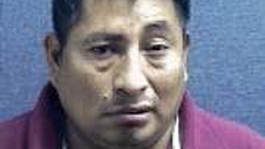 Juan Andres, who came to the U.S. illegally more than 25 years ago, is awaiting deportation in a Boone County jail. (Boone County Jail)