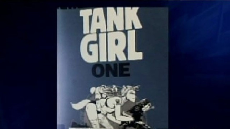 Tank Girl: Explicit graphic novel found in Florida elementary school library.