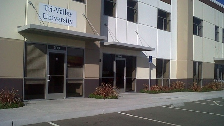 ICE says Tri-Valley University in Pleasanton, CA, is a sham, sheltering illegal immigrants.