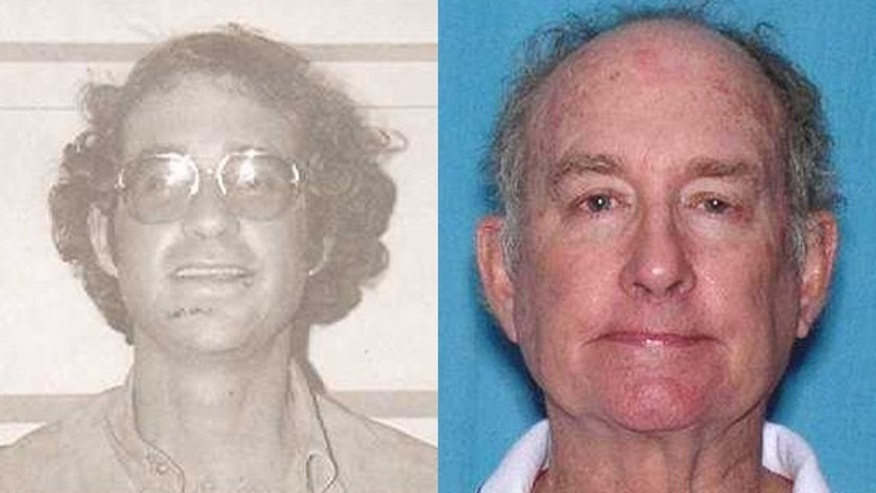 Mark Steven Phillips, 62, was arrested in his apartment at Century Village, a seniors community in Florida where he had been living in recent months, according to the U.S. Marshals Service. The arrest came 31 years after Phillips' original arrest in 1979, left. (U.S. Marshals Service)