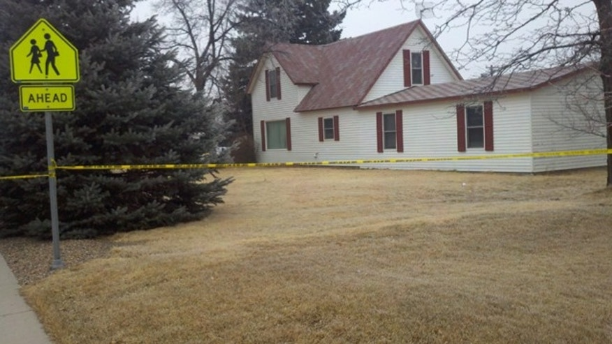 March 2, 2011: The Colorado home of Charles and Marilyn Long, who were allegedly killed by their 12-year-old son.