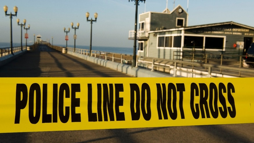 March 11: The Seal Beach Pier is closed in Seal Beach, Calif., after a 8.9-magnitude earthquake struck the eastern coast of Japan, causing tsunami advisories as far away as the United States' west coast.