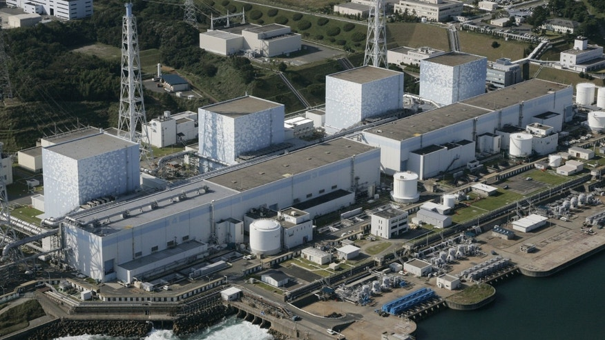 This October 2008 photo shows the Fukushima No. 1 power plant of Tokyo Electric Power Co. at Okuma, Fukushima prefecture, northern Japan. (AP)