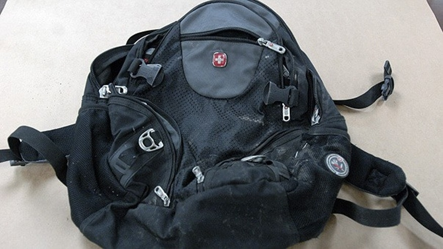 A backpack found along the route of a Martin Luther King Jr. Day parade in Spokane, Wash., contained a sophisticated explosive and detonator, the FBI said.